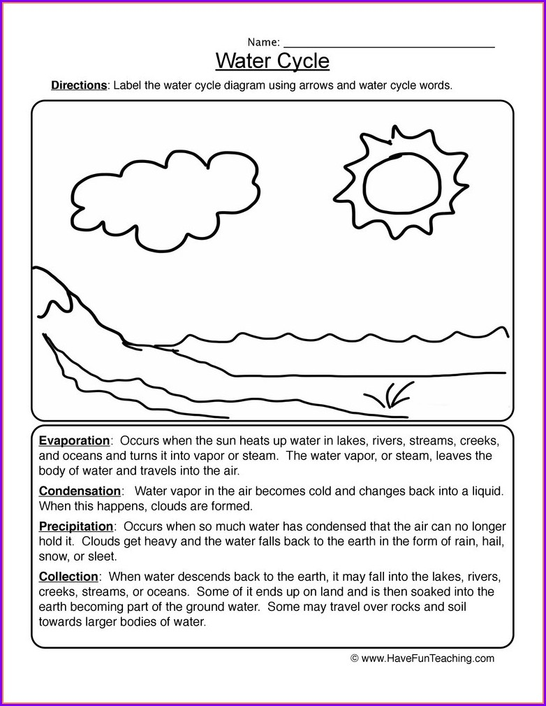 3rd Grade Weather Worksheets For Kids