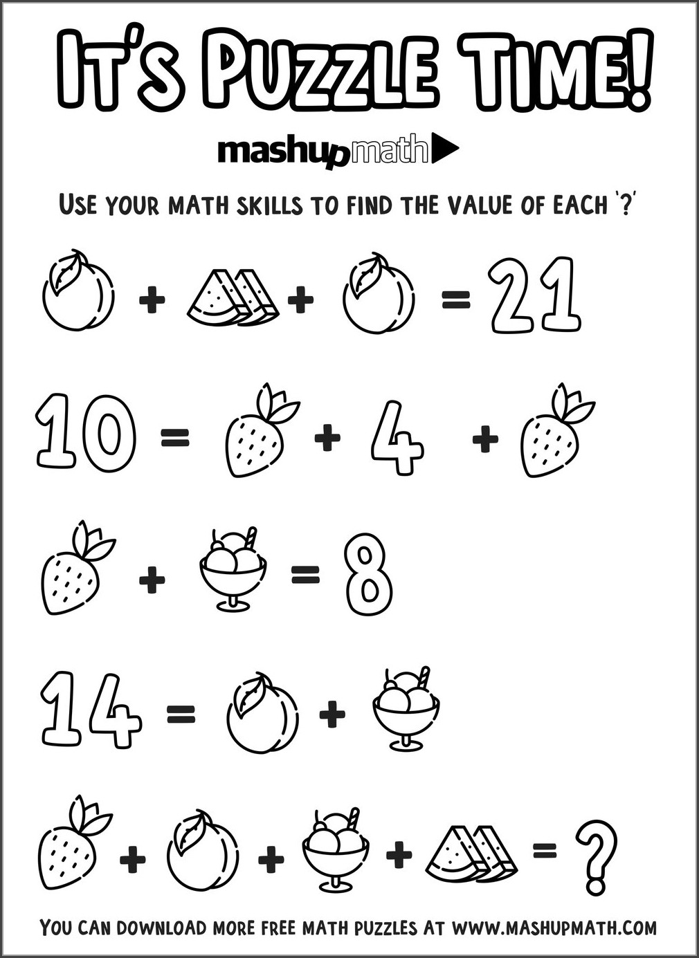 4th Grade Rounding Numbers Worksheet