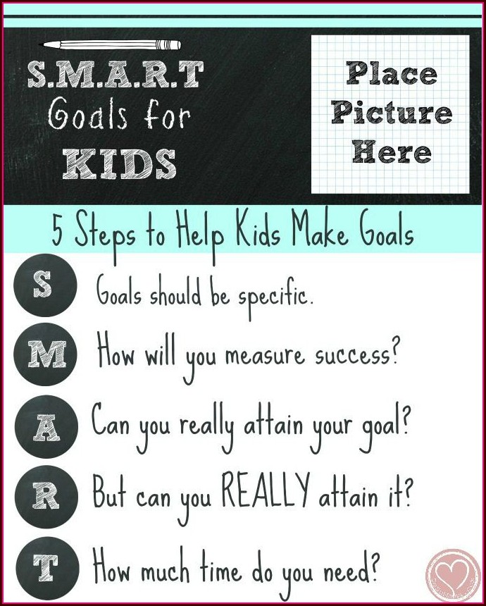 Church Goal Setting Worksheet