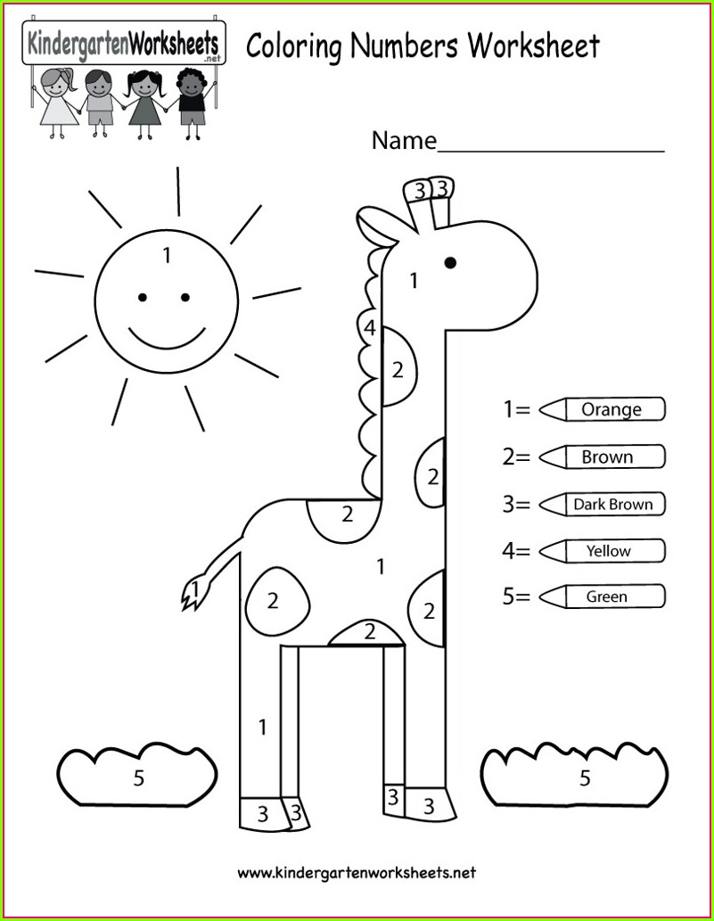 English Worksheet For Nursery Students