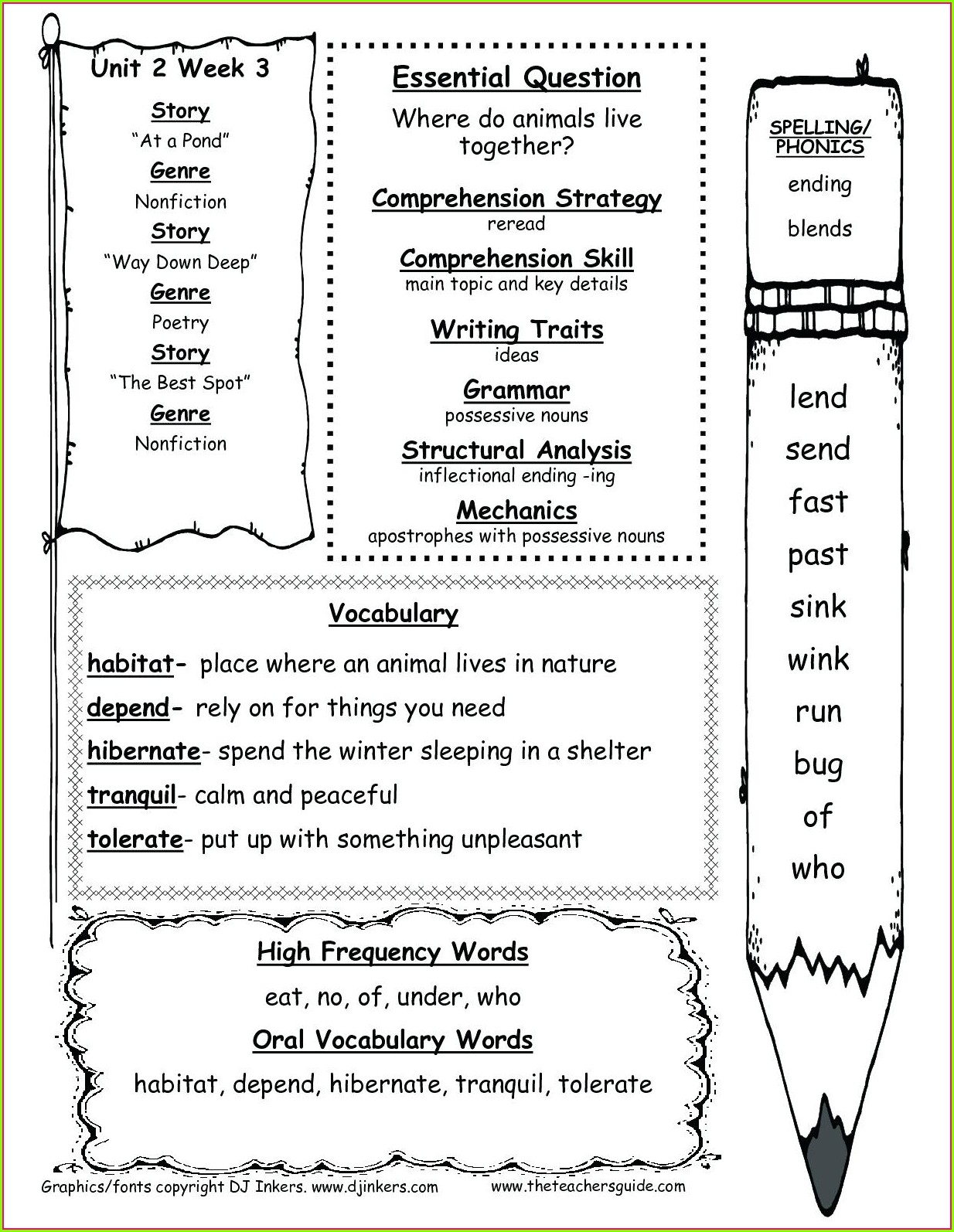 First Grade Final Consonant Blends Worksheets