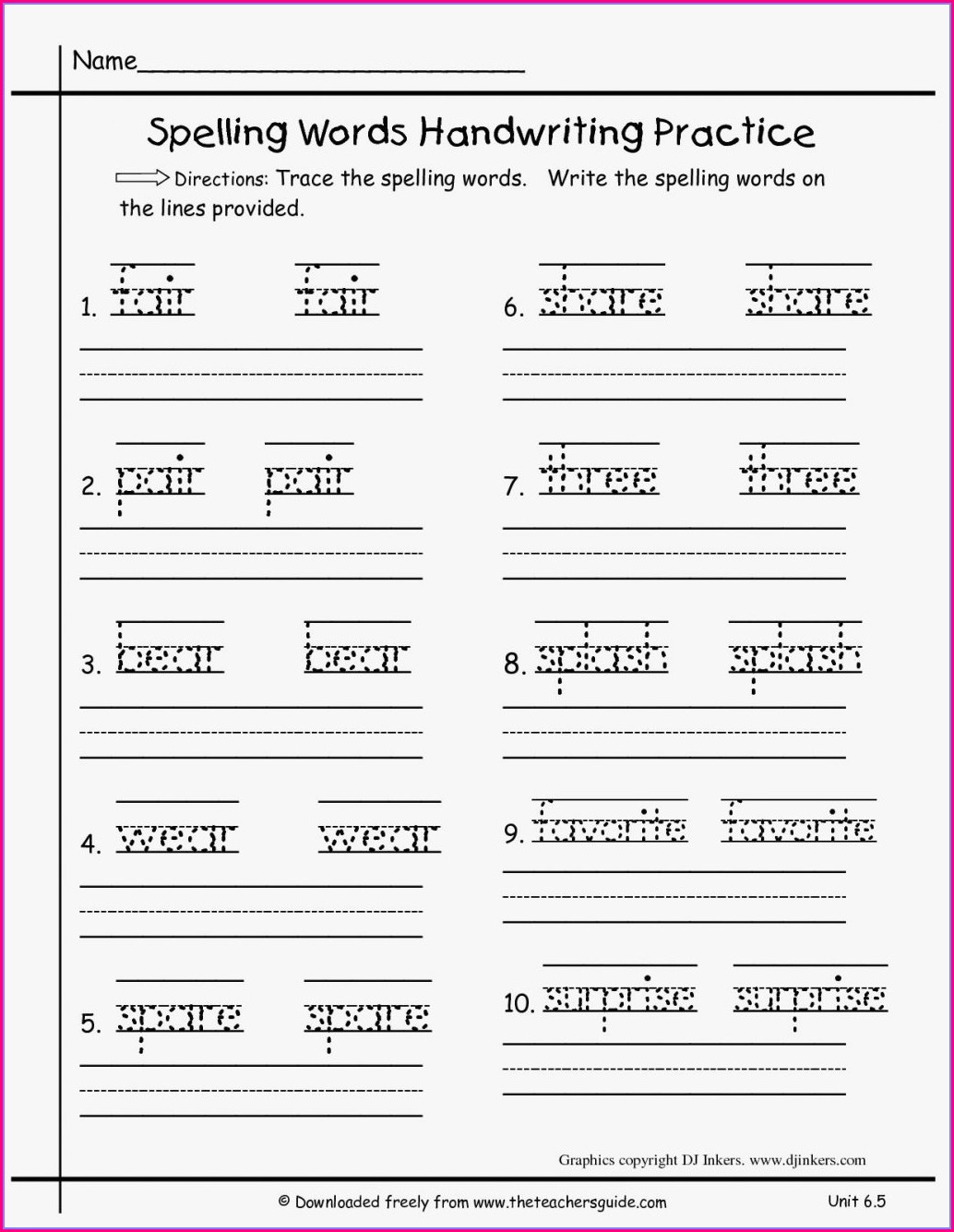 First Grade Grade 1 Writing Worksheets Pdf
