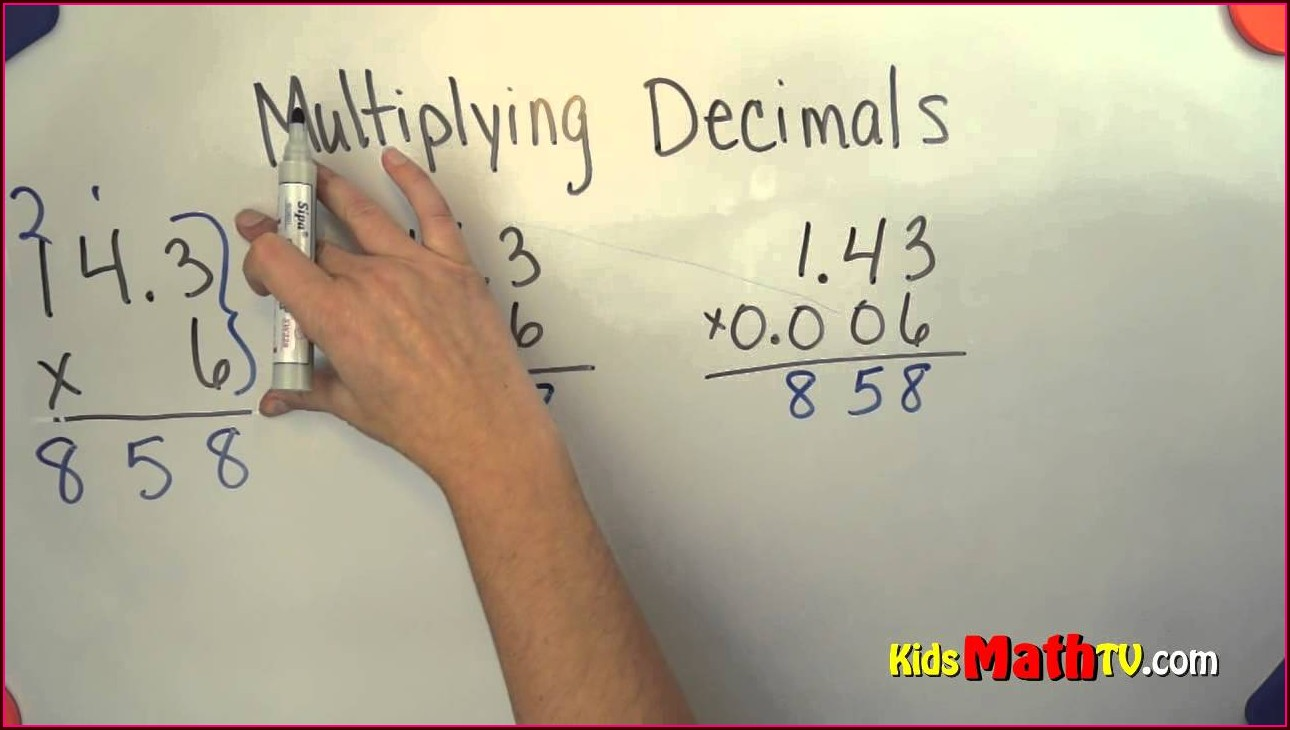 Free Multiplying Decimals Word Problems Worksheet