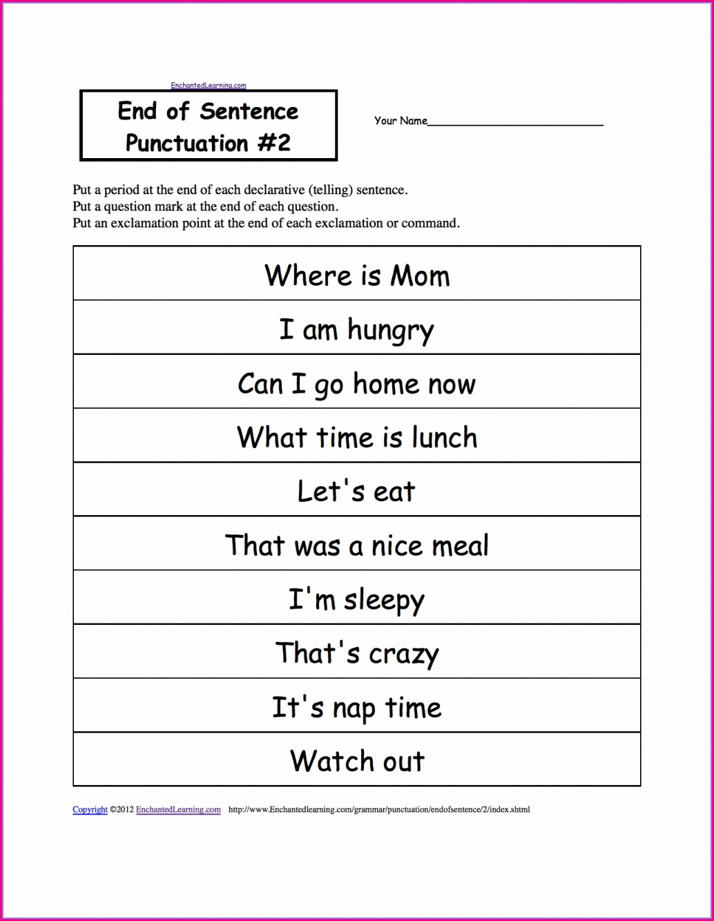 Free Printable 8th Grade English Worksheets
