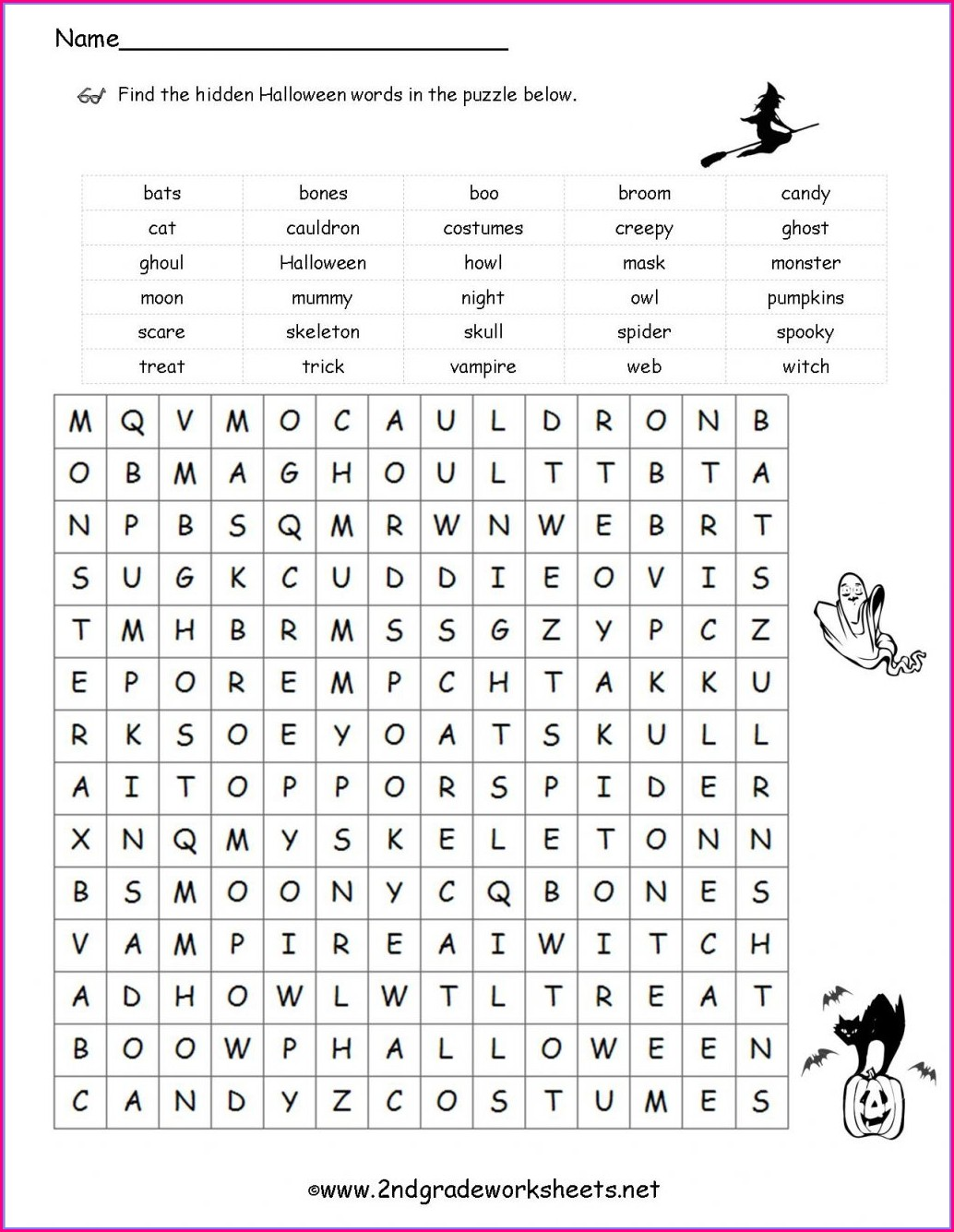 Fun Math Activity Worksheets For Second Grade