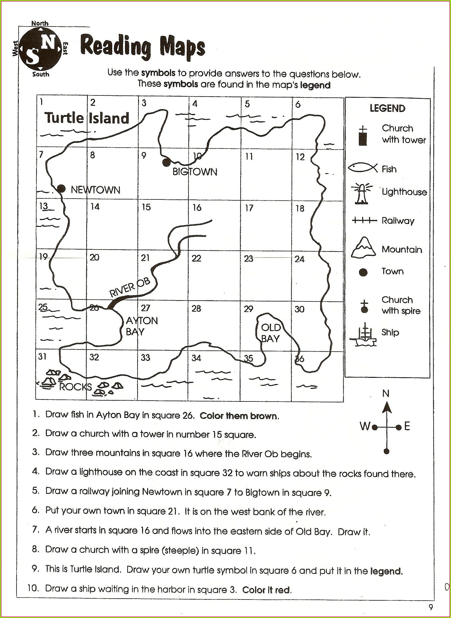Geography 3rd Grade Social Studies Worksheets