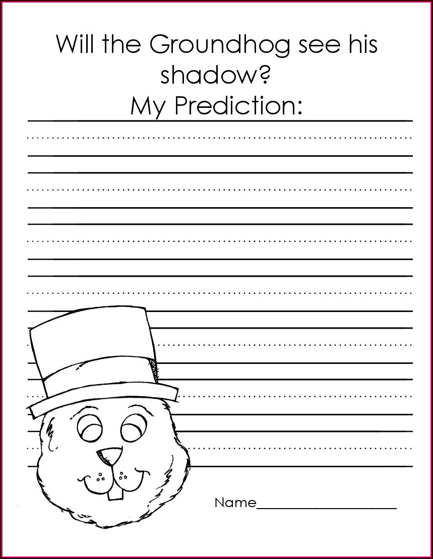 Groundhog Day Viewing Worksheet