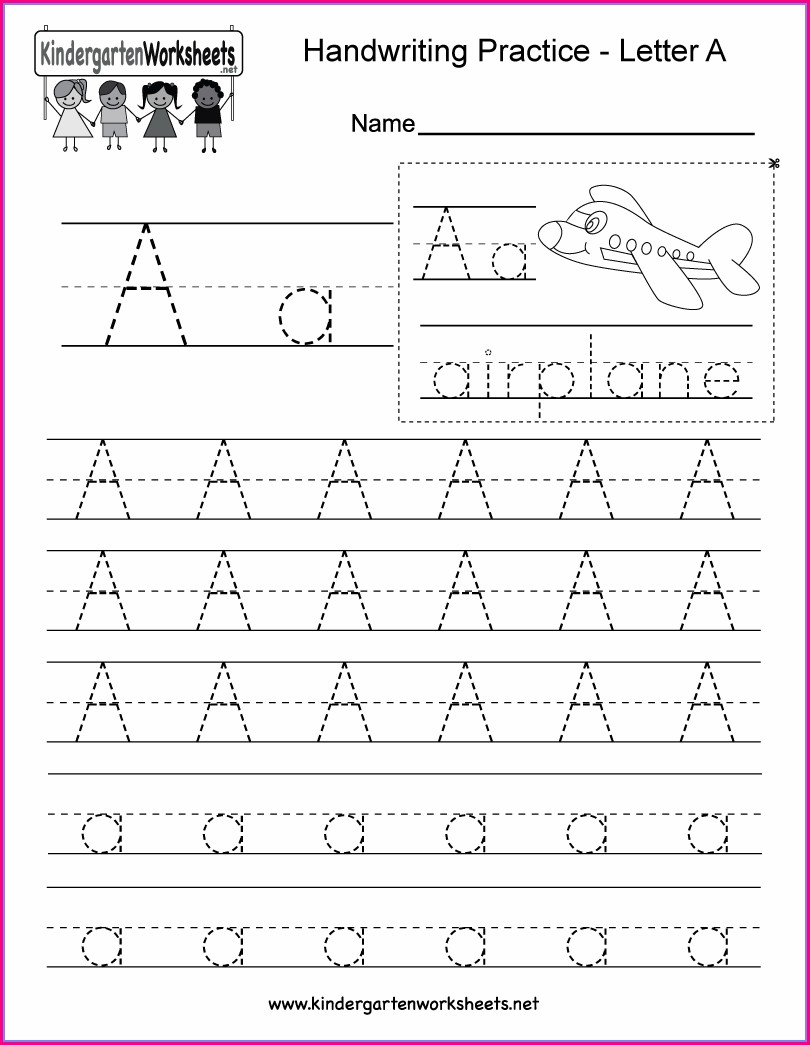 Handwriting Worksheet Makercom