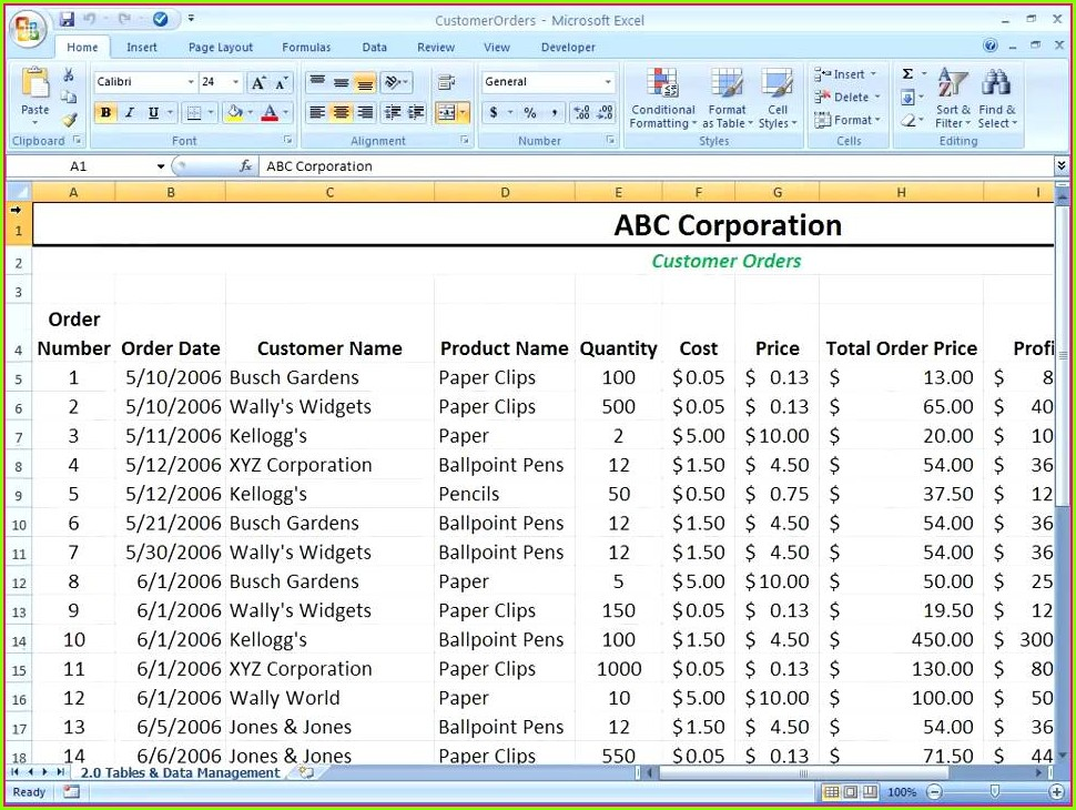 Import Excel Worksheet Into Access Form