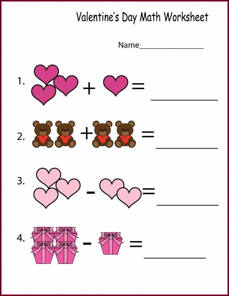 Math Worksheet Addition And Subtraction
