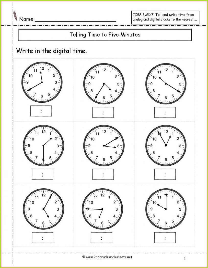 Printable Counting Preschool Math Worksheets