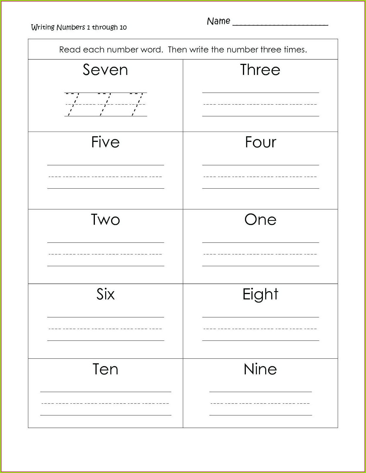 Sentences Writing Worksheets For 3rd Grade
