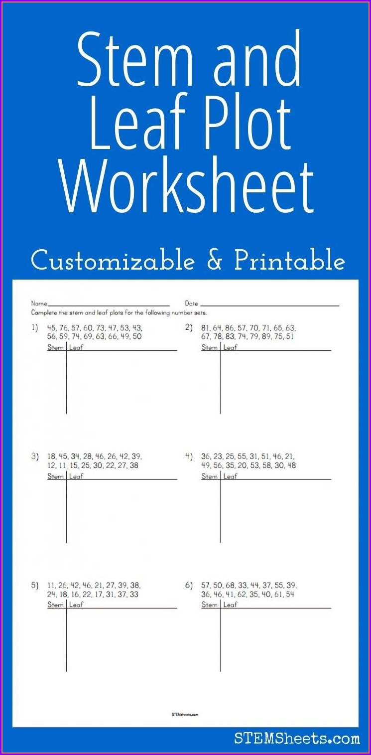Sixth Grade Math Enrichment Worksheets