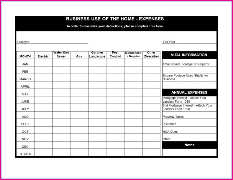Tax Deduction Worksheet For Firefighters