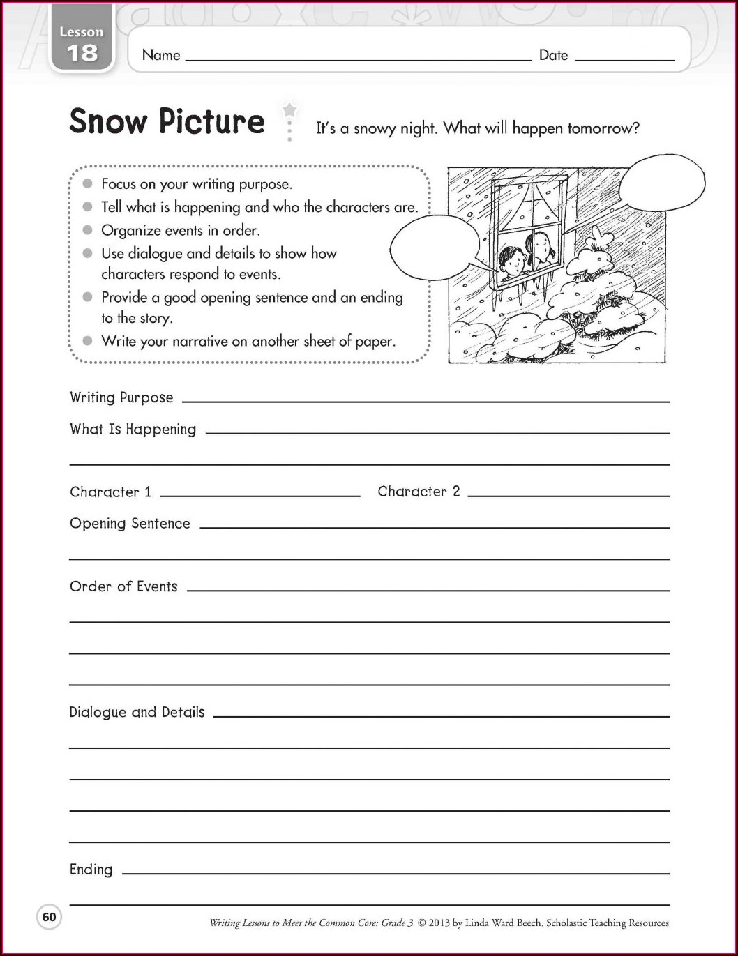 Third Grade Handwriting Worksheets