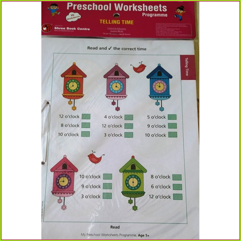 Time Worksheets Level 4