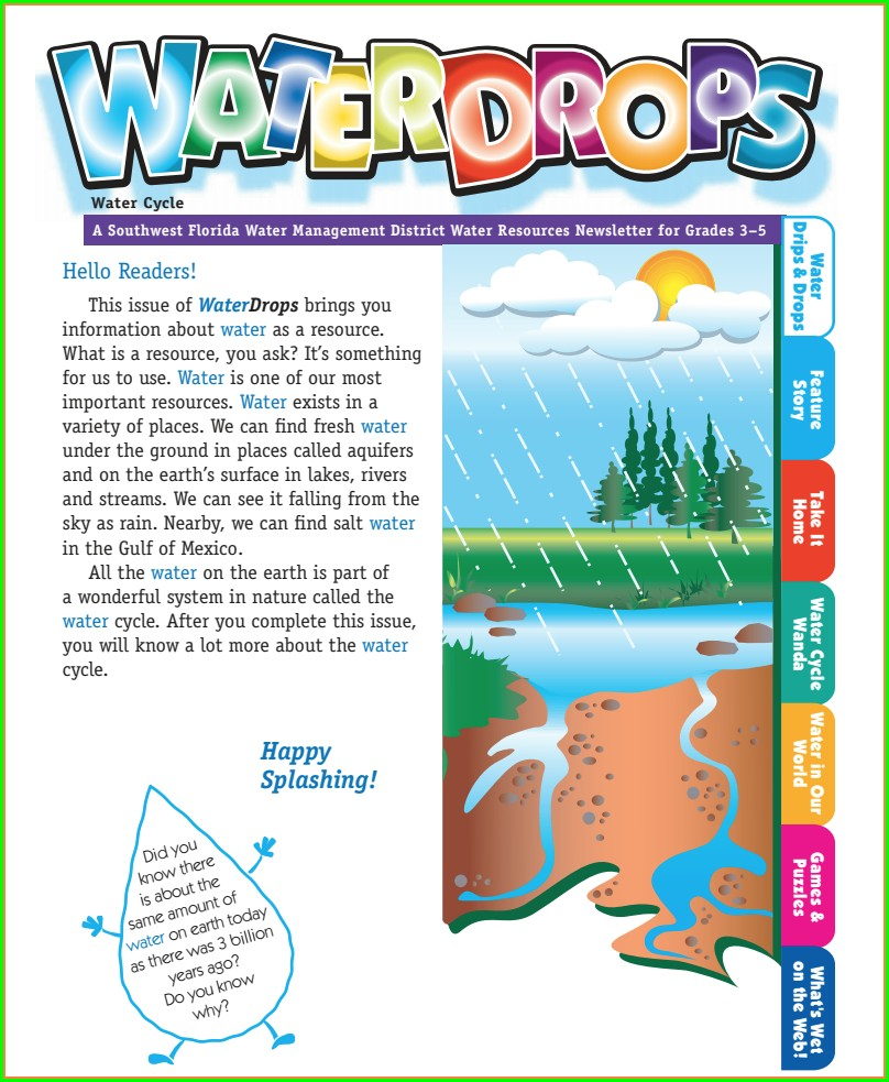 Water Cycle Worksheet For 6th Grade