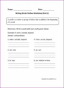 Writing A Letter Worksheet 2nd Grade