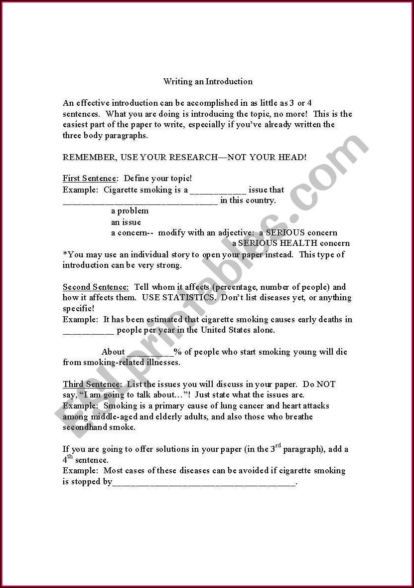 Writing Effective Sentences Worksheet 13