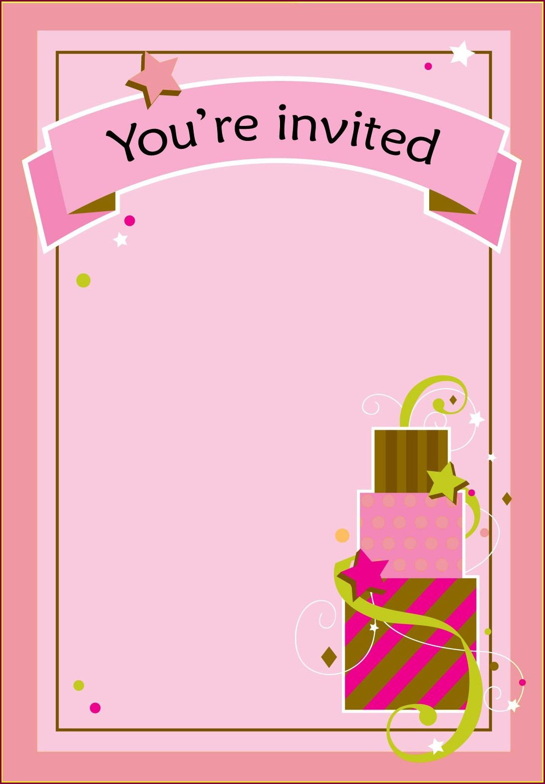 13th Birthday Teenage Birthday Invitations Templates Free