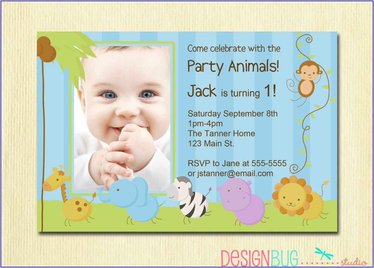 1st Birthday Invitation Wording For Baby Boy In India