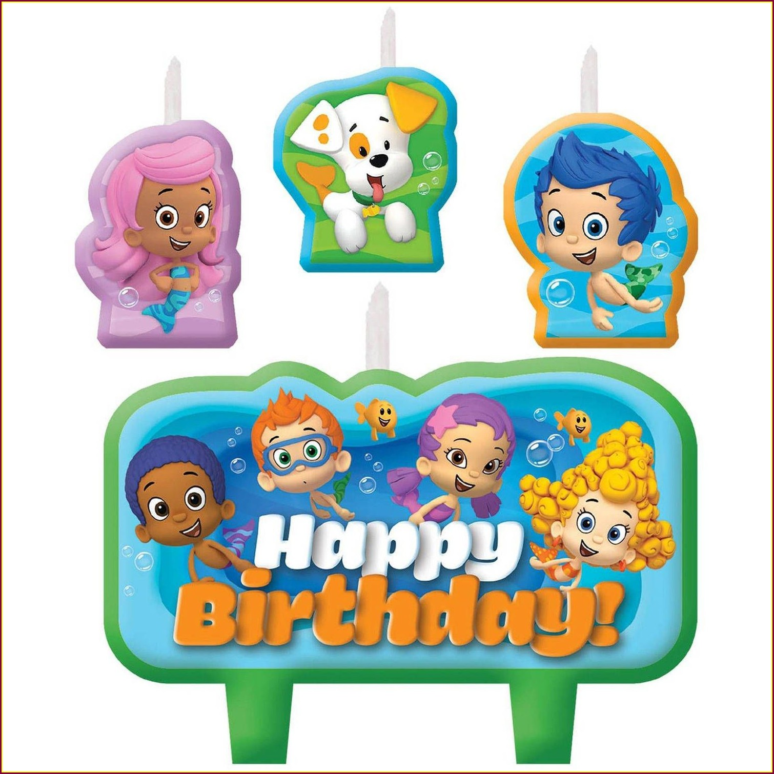 Bubble Guppies Invitations Walmart