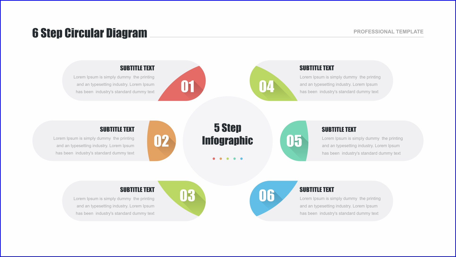 Circular Flow Diagram Template Free