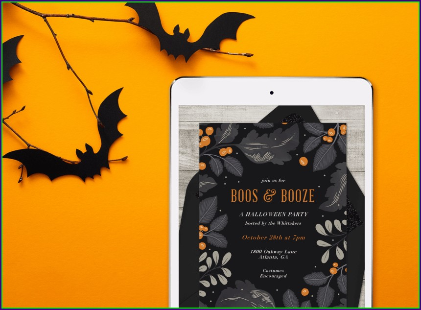Clever Halloween Invitation Wording