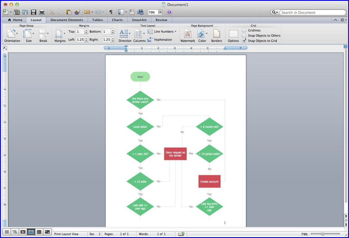 Create Workflow Diagram Microsoft Word