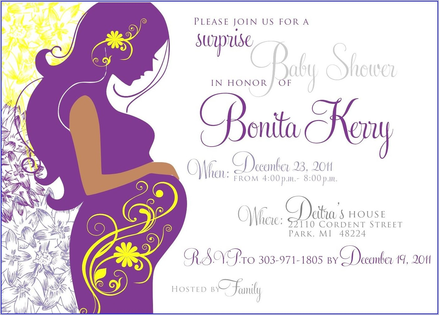 Downloadable Free Baby Shower Invitation Templates For Word