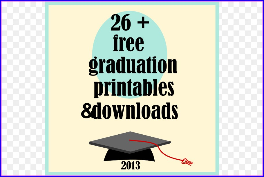 Downloadable Free Graduation Invitation Templates For Word