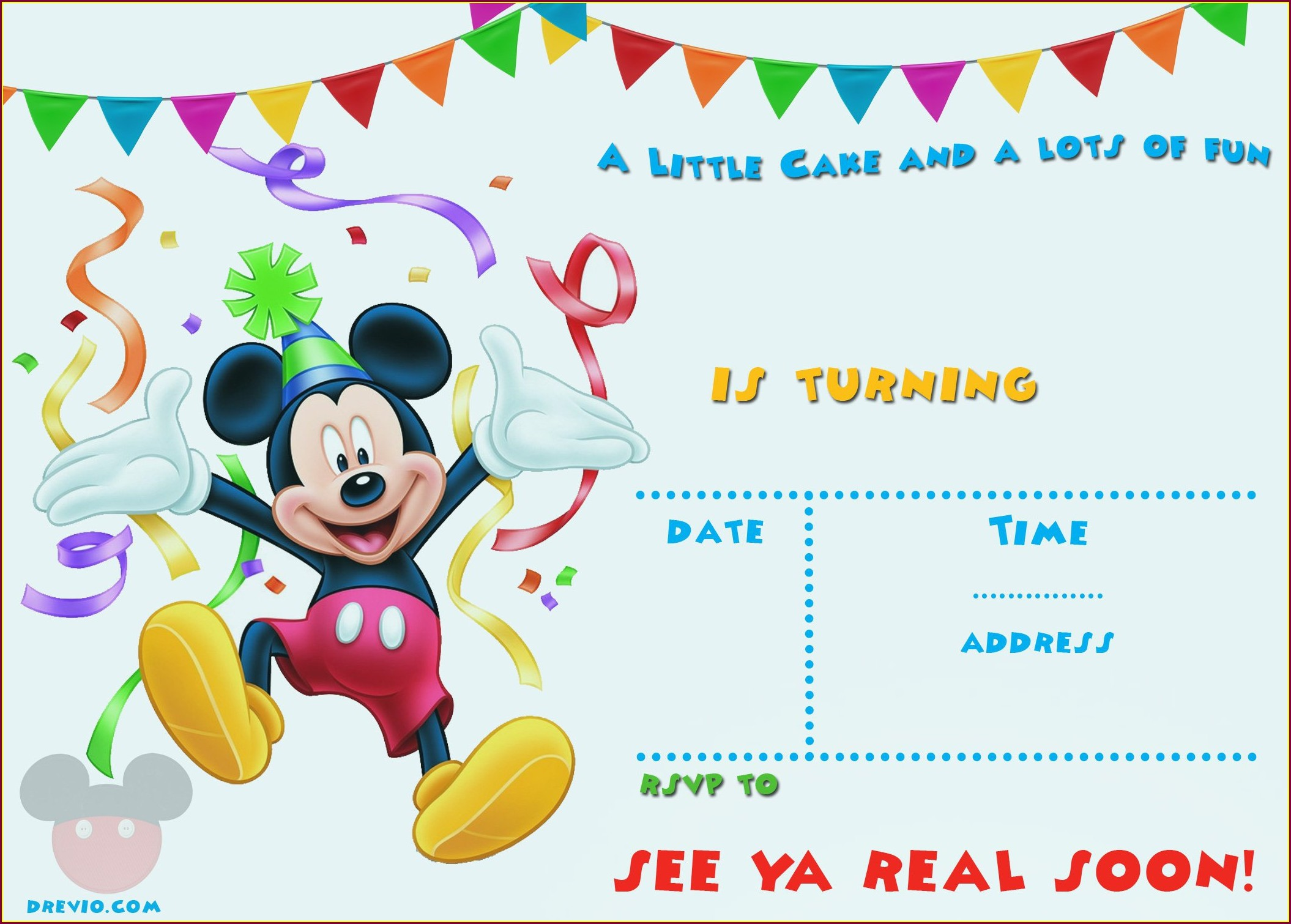 Editable Blank 1st Birthday Invitations Boy Templates Free