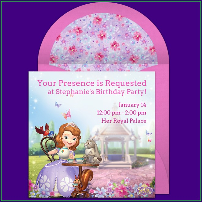 First Birthday Invitations Girl Free