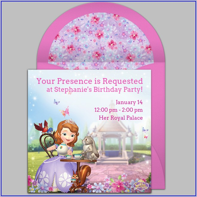 First Birthday Online Invitations Free