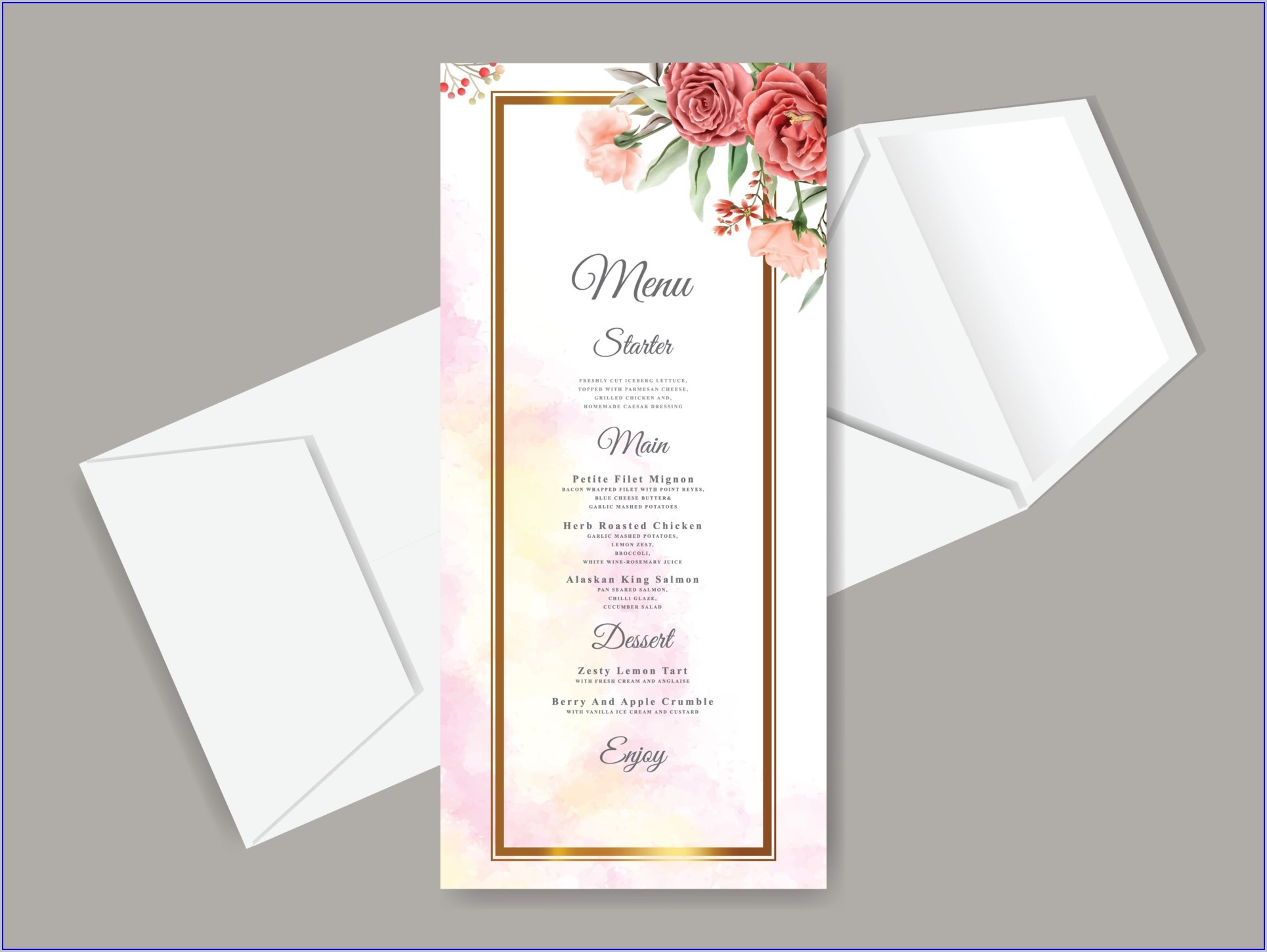 Floral Wedding Invitation Templates Free Download