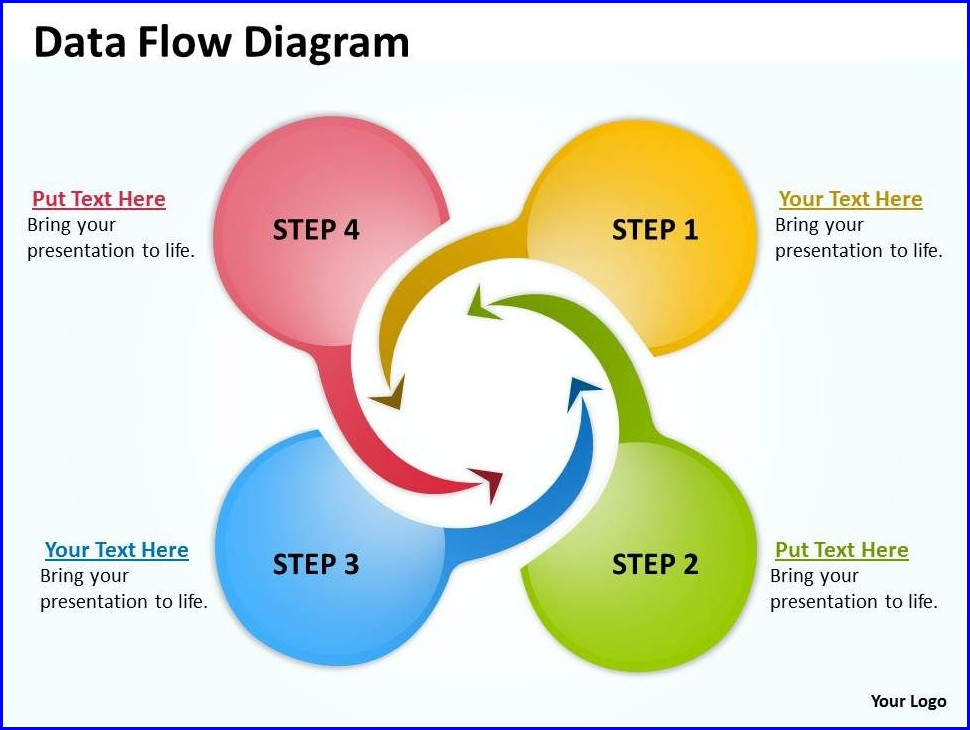 Flow Diagram Ppt Template
