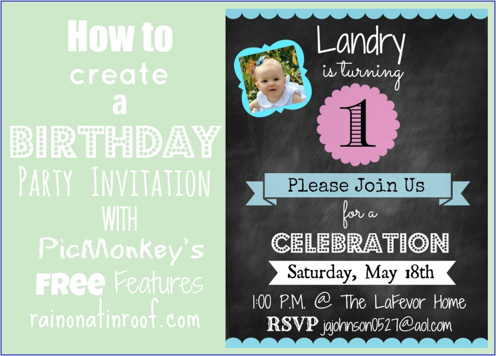 Free Online Birthday Invitations