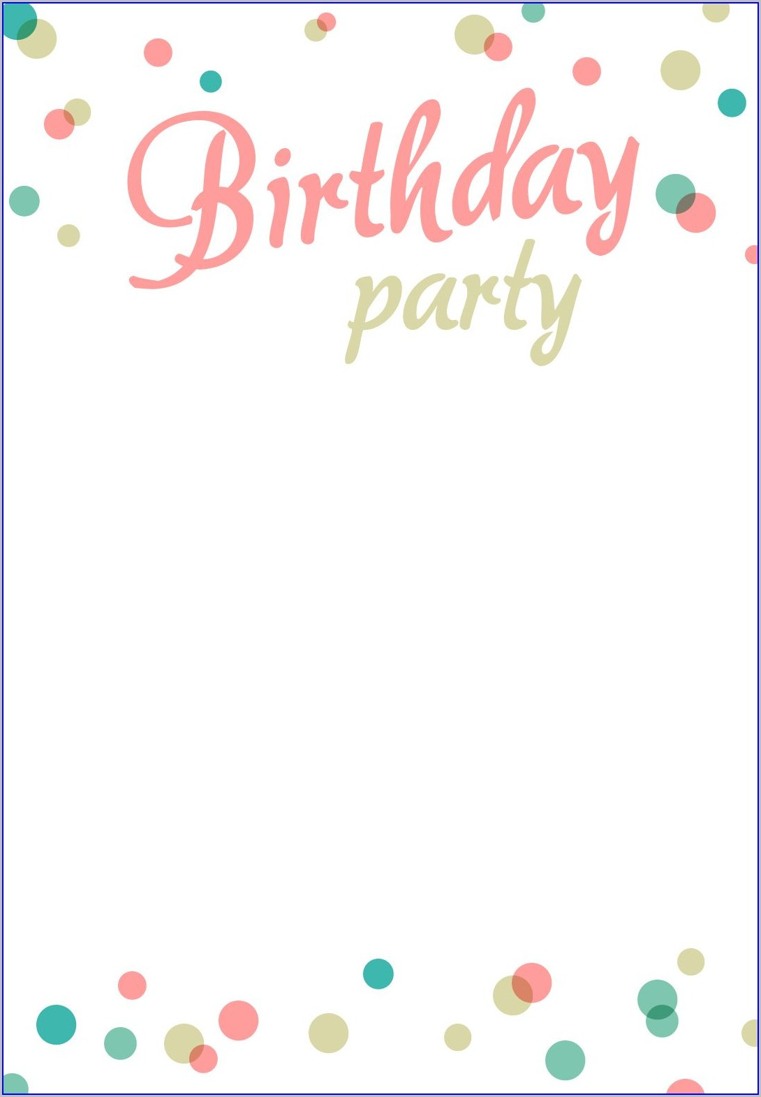 Free Printable Downloadable Surprise Birthday Invitations