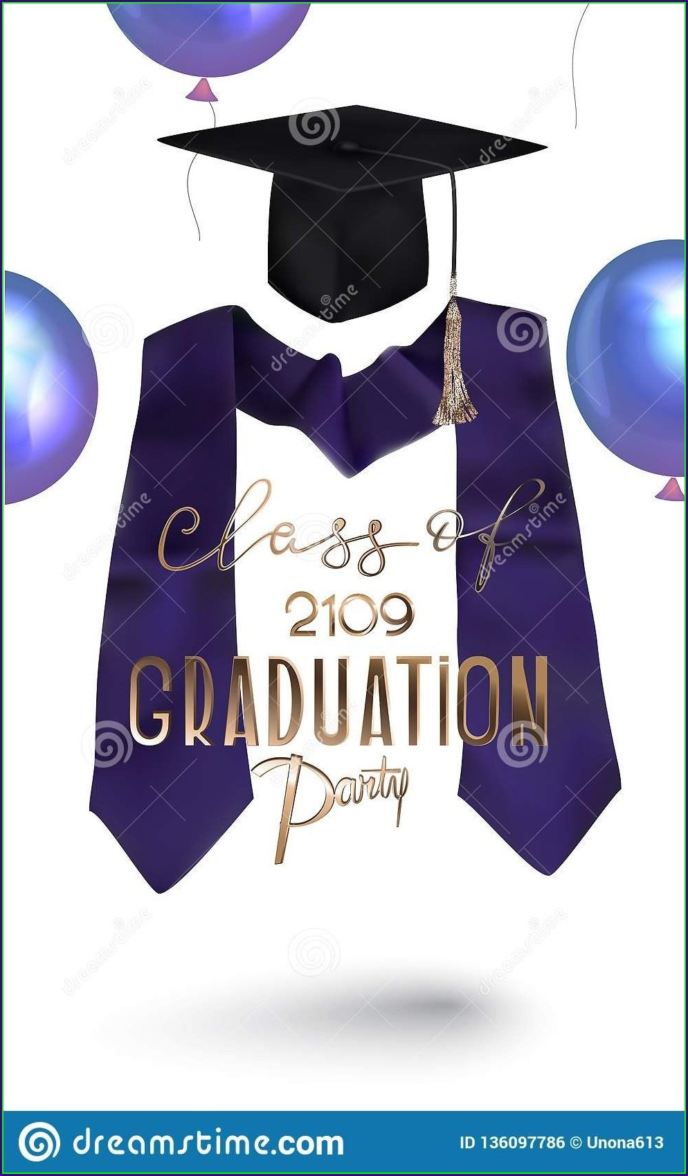 Graduation Invitation Card 2019