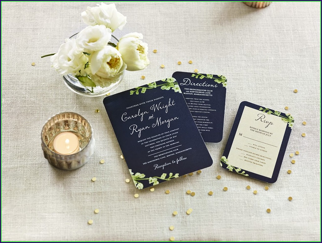Halloween Wedding Invitation Wording