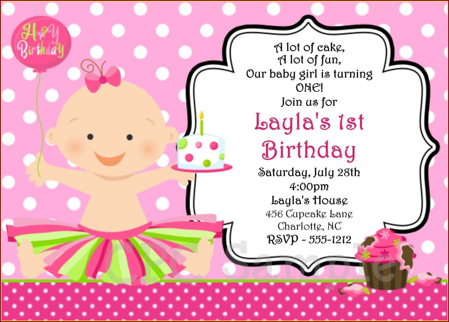 Invitation Template Create Birthday Invitation Card Online Free