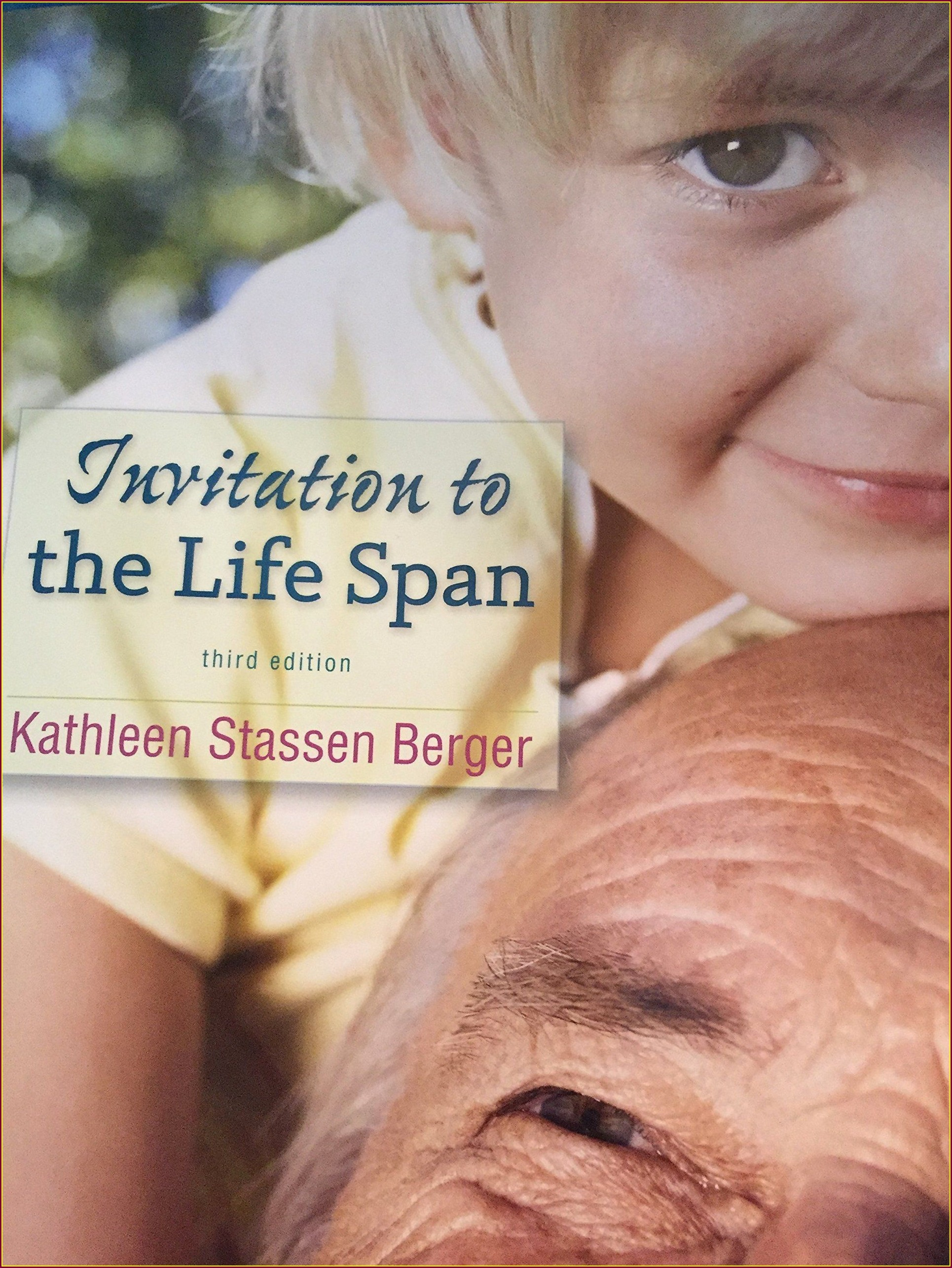 Invitation To The Lifespan Pdf