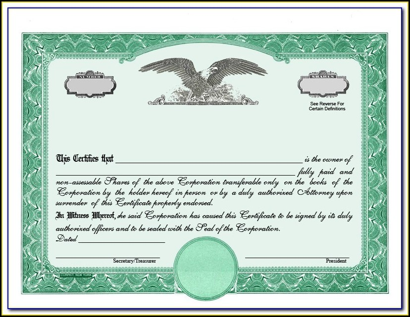 Microsoft Word Stock Certificate Template