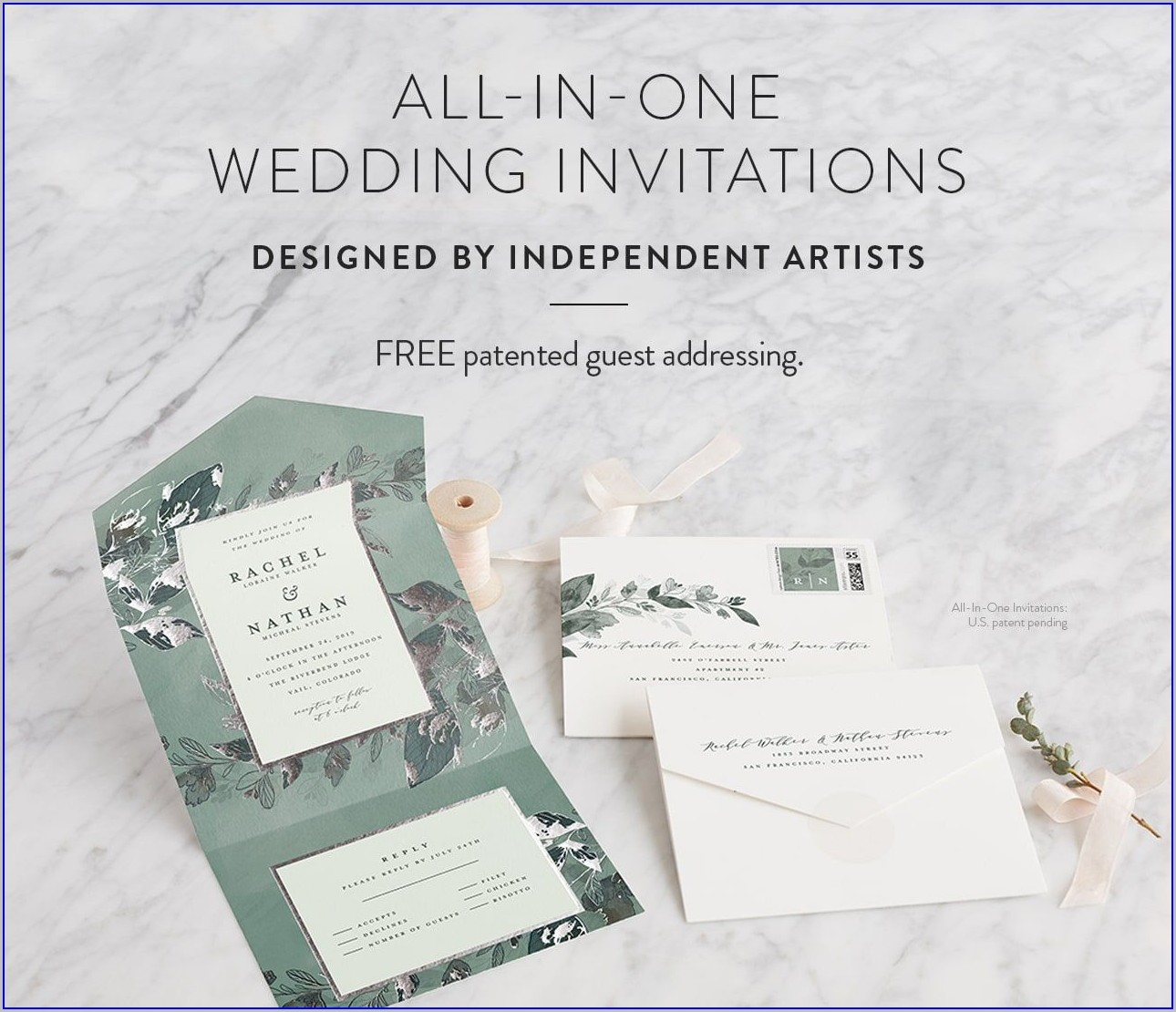 Minted Wedding Invitations All In One