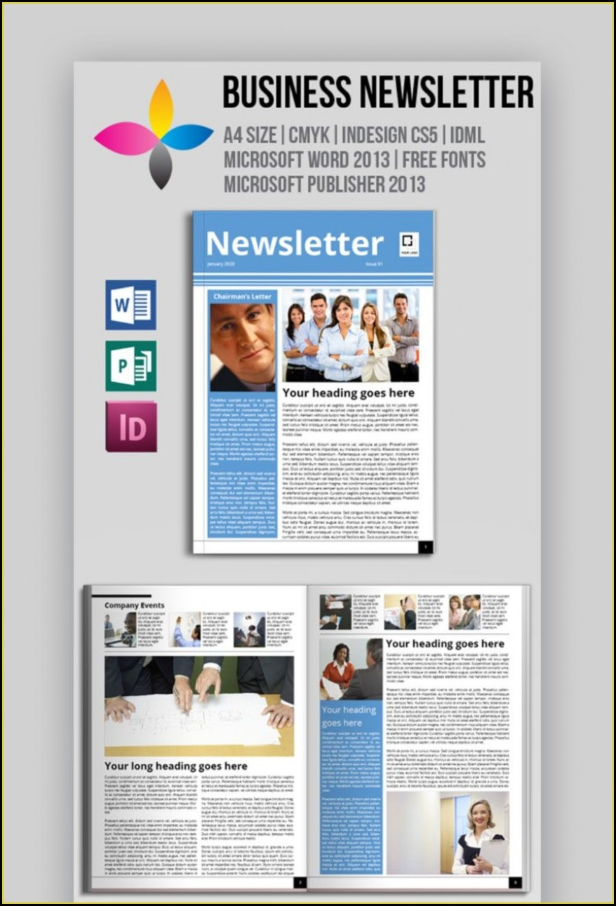 Newsletter Template Microsoft Word 2007