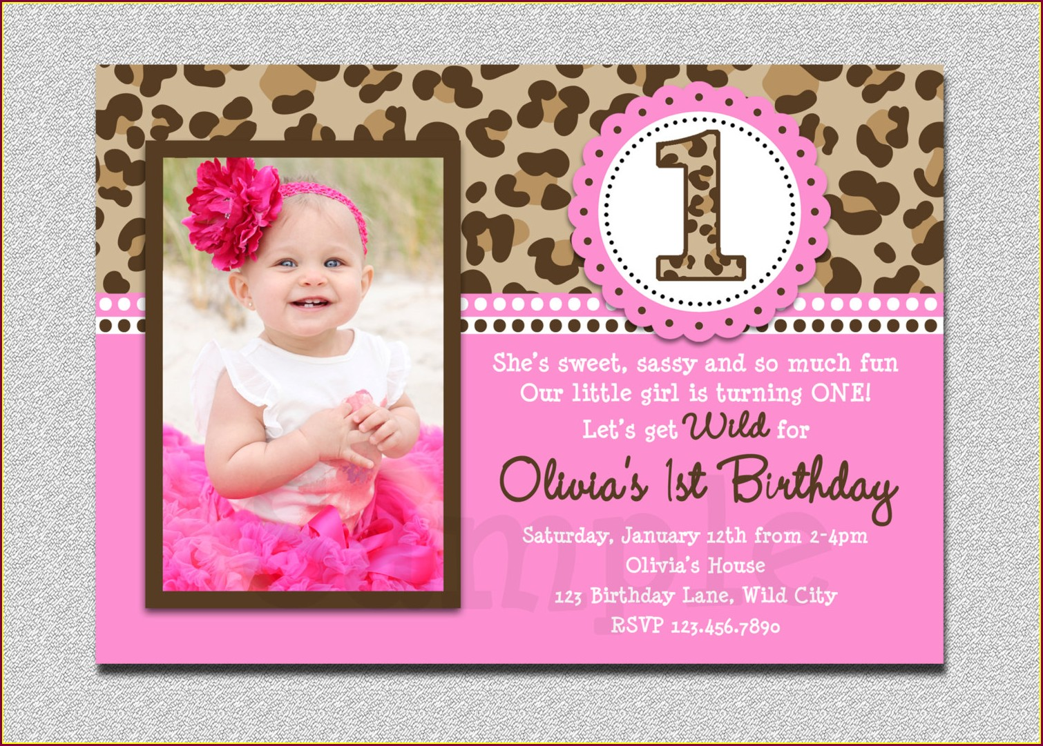 Photo Birthday Invitations Online