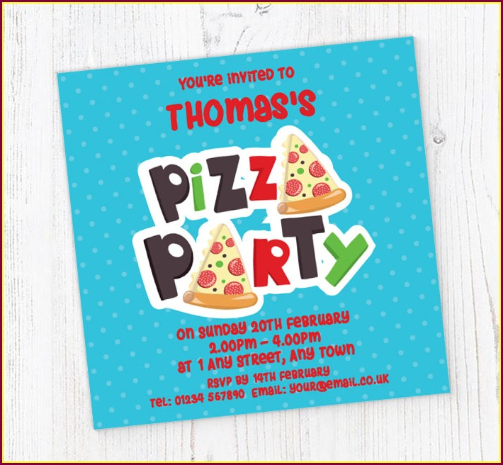 Print Birthday Invitations Online