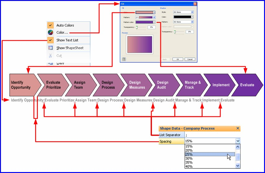 Process Flow Diagram Template Visio 2010