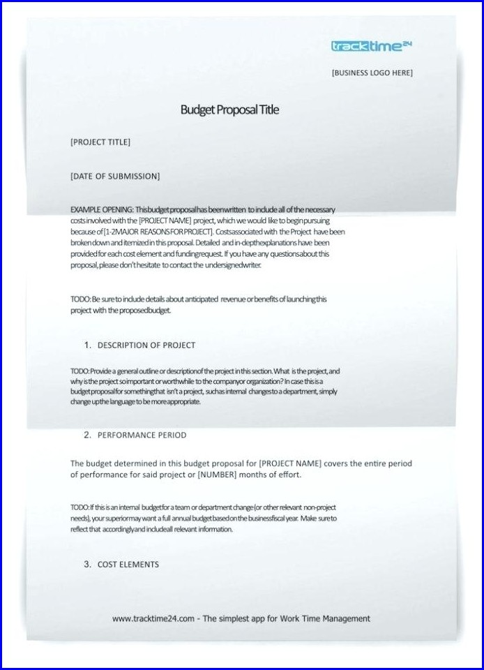 Proposal Grant Writing Sample