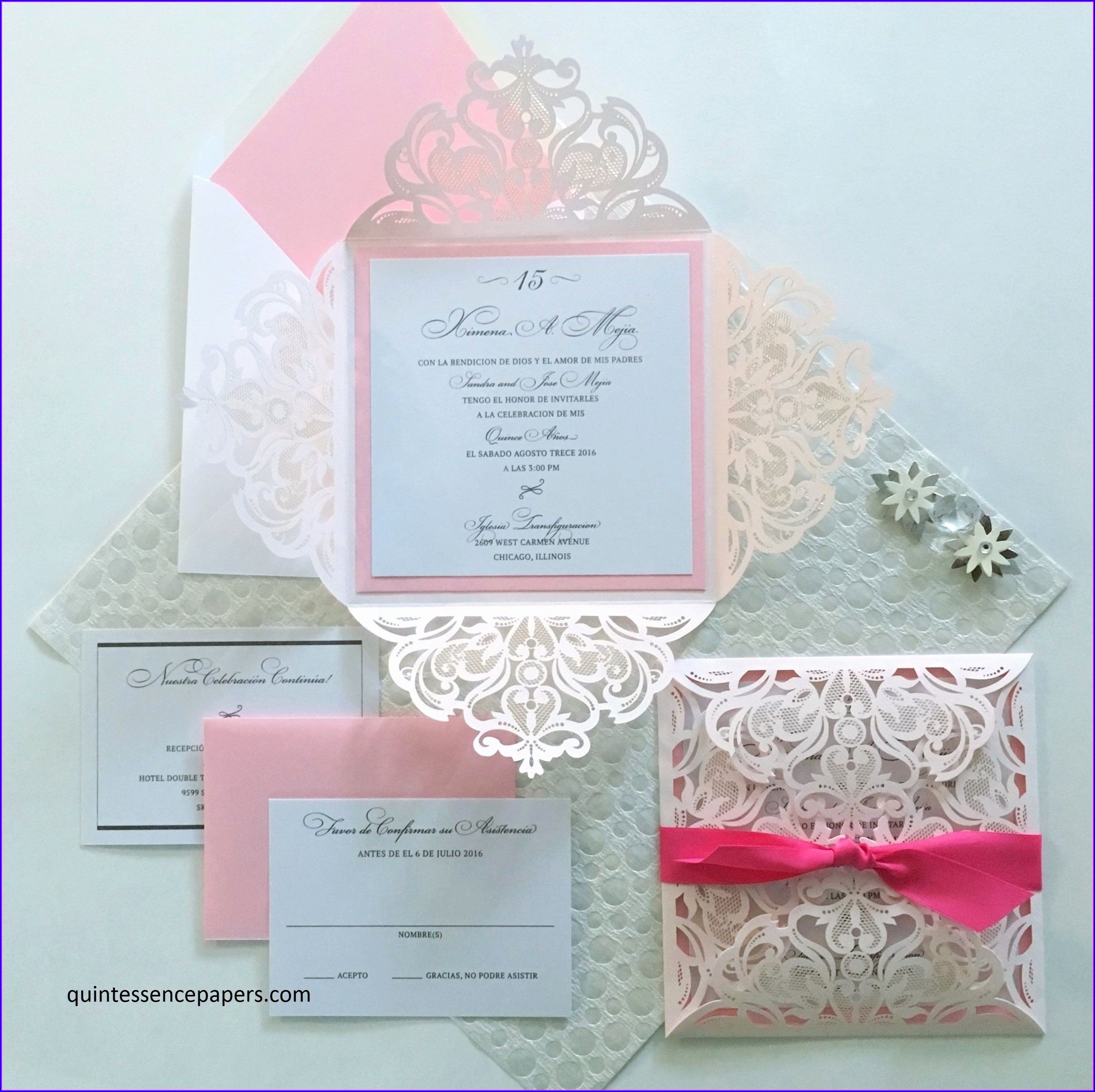 Quinceanera Invitation Wording In English